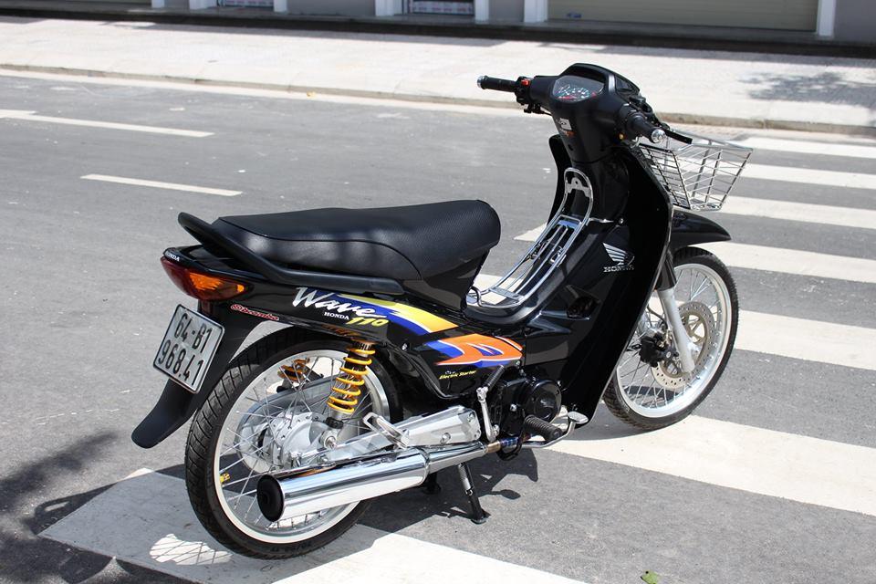 Wave 110 Dua con tinh than voi rat nhieu do choi khung cua biker Viet - 8