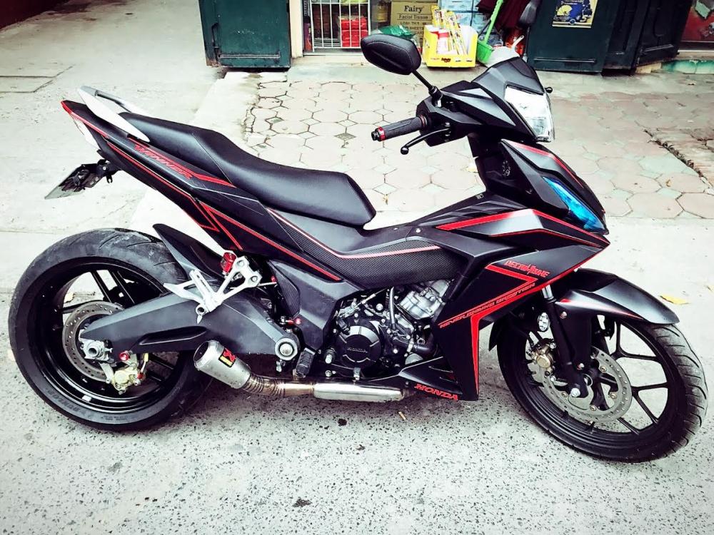 Winner 150 do sieu khung voi dan gap thua huong tu Ducati 899 - 3