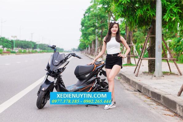 Xe dien Jeek Aima 2018 chien binh duong pho - 2