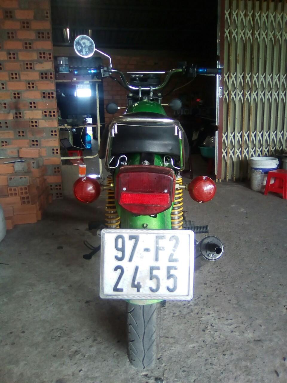 Xe Mo to Mink 2 thi xe Lien Xo Moto 125cc Da don tu A Z - 4