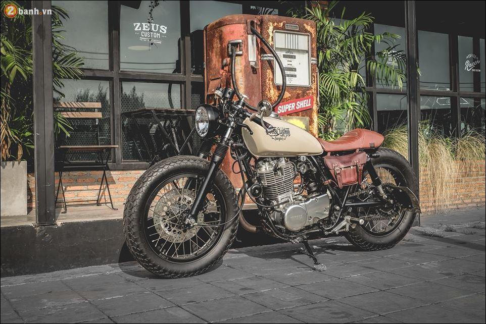 Yamaha SR400 ban do ngat ngay den tu Zeus Custom - 13