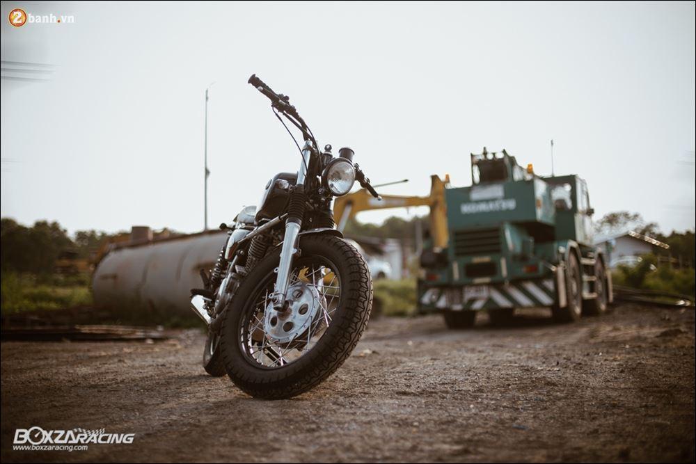 Yamaha SR400 phong tran lich lam qua Version Dirt Style Classic