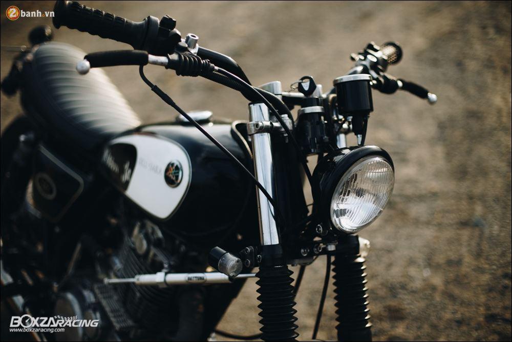 Yamaha SR400 phong tran lich lam qua Version Dirt Style Classic - 4