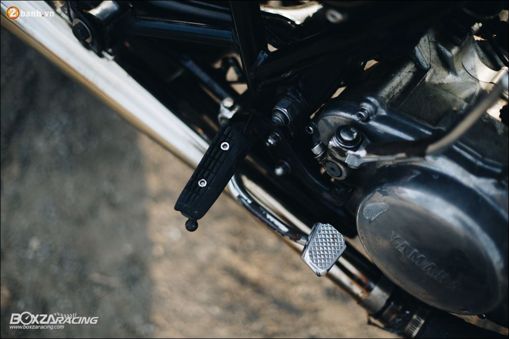 Yamaha SR400 phong tran lich lam qua Version Dirt Style Classic - 12