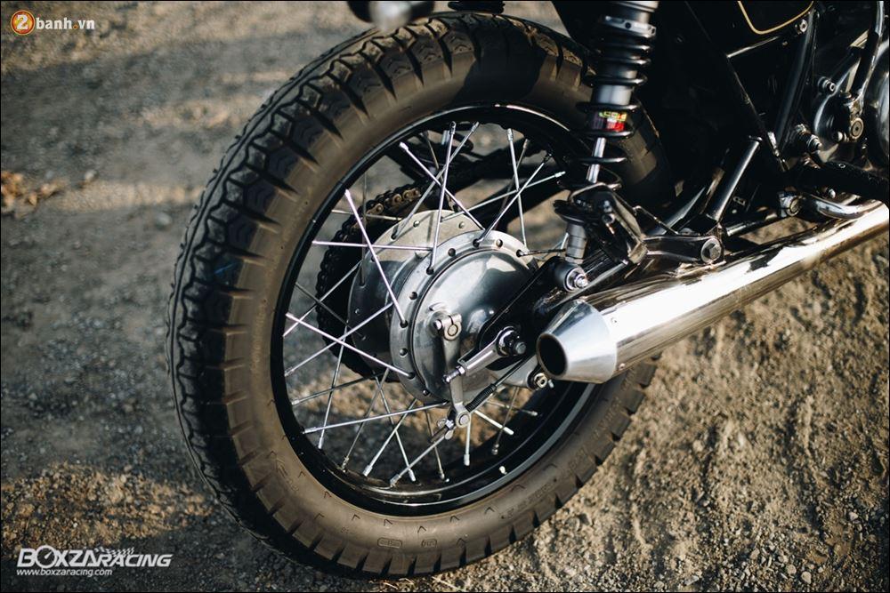 Yamaha SR400 phong tran lich lam qua Version Dirt Style Classic - 14