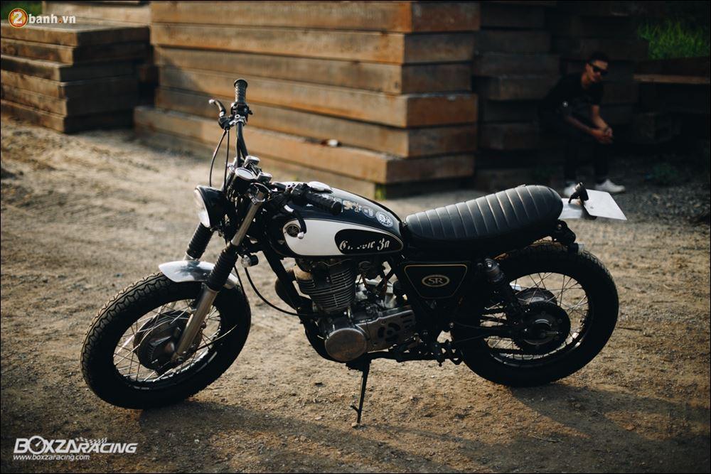 Yamaha SR400 phong tran lich lam qua Version Dirt Style Classic - 17