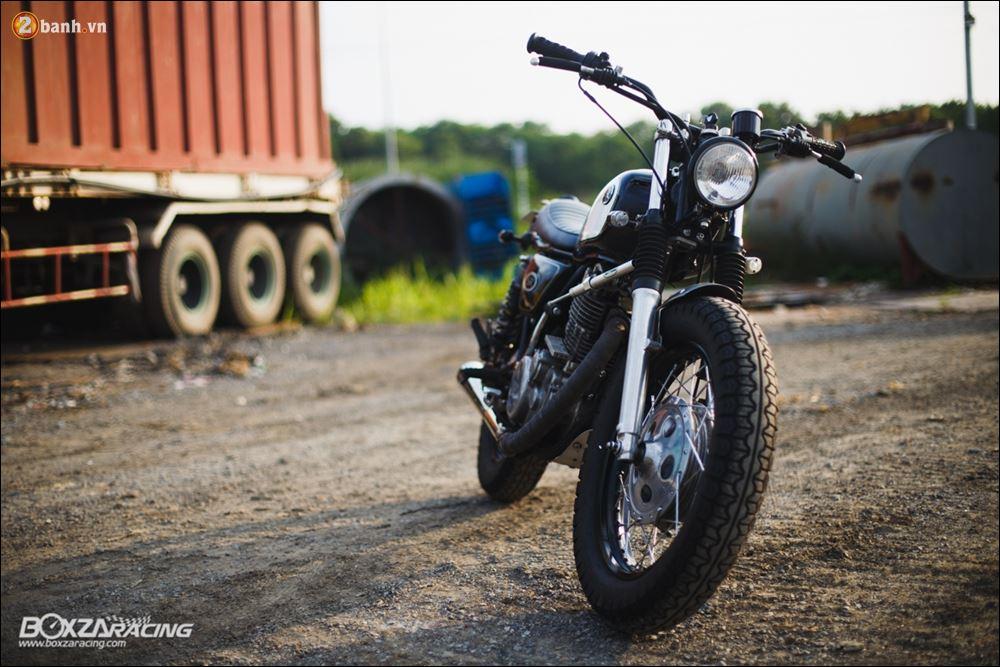 Yamaha SR400 phong tran lich lam qua Version Dirt Style Classic - 21