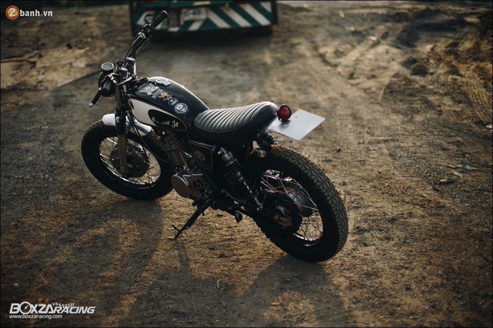 Yamaha SR400 phong tran lich lam qua Version Dirt Style Classic - 23