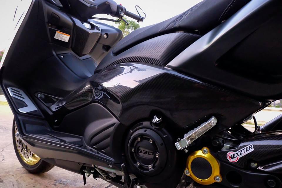 Yamaha TMax ban do nhuc nhoi tu trang bi khung - 17