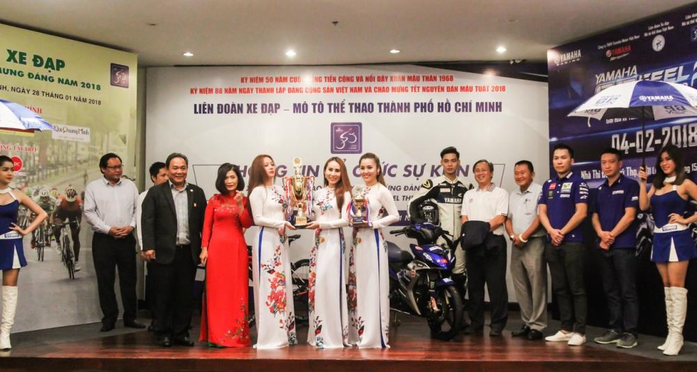 Yamaha Viet Nam phoi hop to chuc giai dua xe Yamaha GP 2018 tai TpHCM - 3