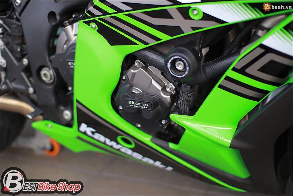 ZX10R ve dep so tai cua Dai mang xa nha Kawasaki - 10
