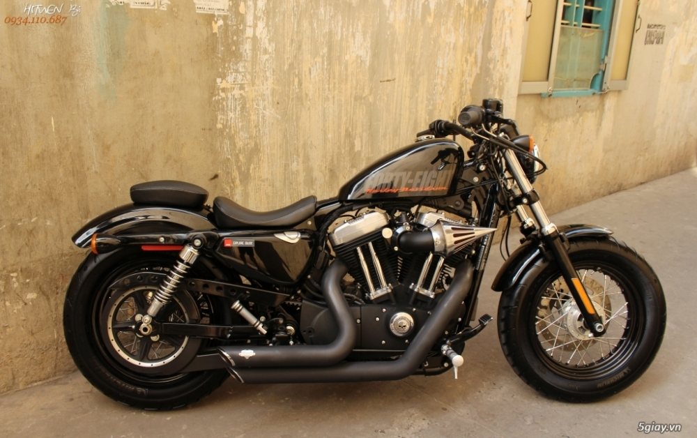 ___ Can Ban ___HARLEY DAVIDSON FortyEight 1200cc ABS 2015___ - 6