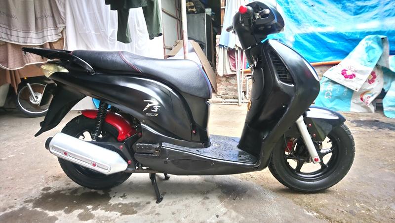 Ban Honda PS 150i mau den doi 2009 gia 365tr - 2