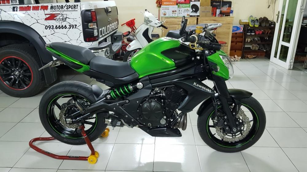 Ban Kawasaki ER6N 62015 HQCN Full thang ABS bien Saigon cap tien dep - 5