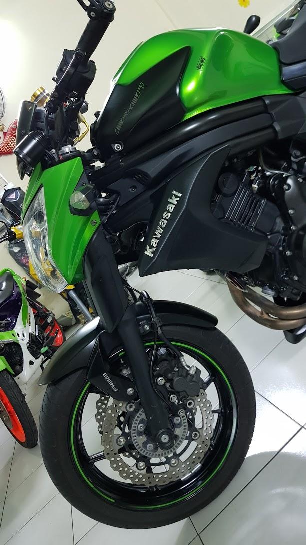 Ban Kawasaki ER6N 62015 HQCN Full thang ABS bien Saigon cap tien dep