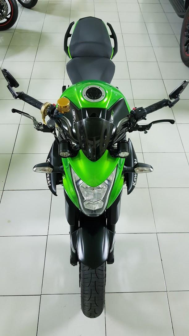 Ban Kawasaki ER6N 62015 HQCN Full thang ABS bien Saigon cap tien dep - 3