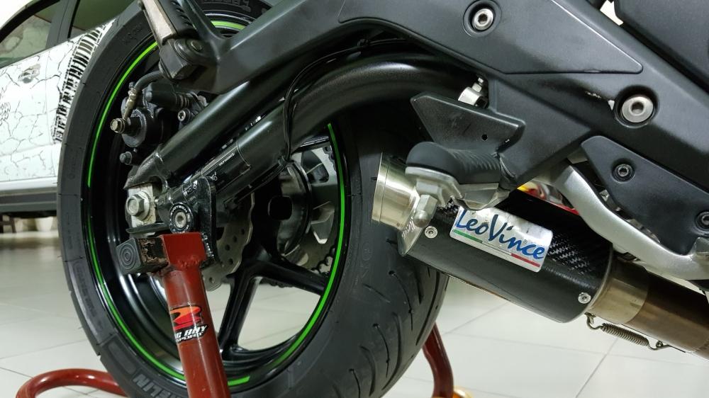 Ban Kawasaki ER6N 62015 HQCN Full thang ABS bien Saigon cap tien dep - 15