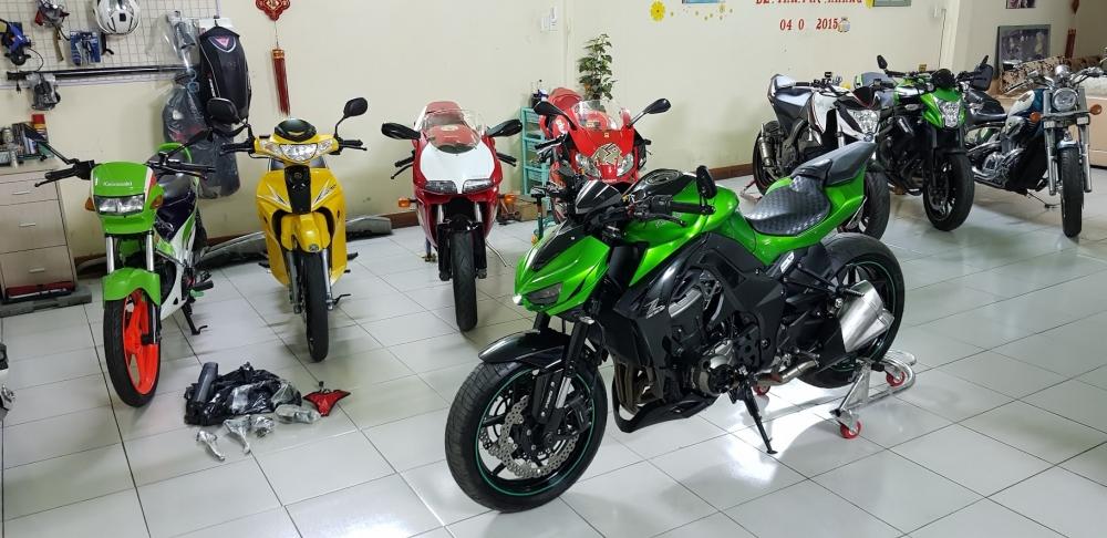 Ban Kawasaki Z1000ABSHQCN102015HISSChau AuSaigon so dep - 4