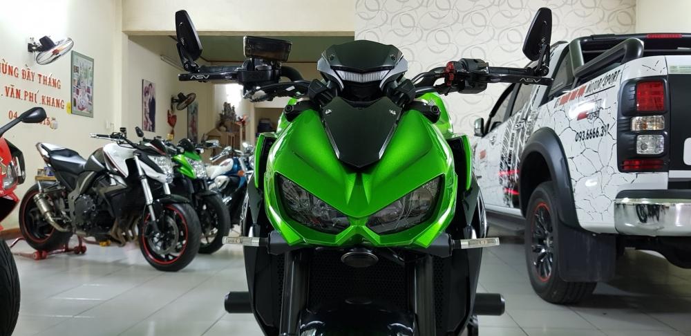 Ban Kawasaki Z1000ABSHQCN102015HISSChau AuSaigon so dep - 6