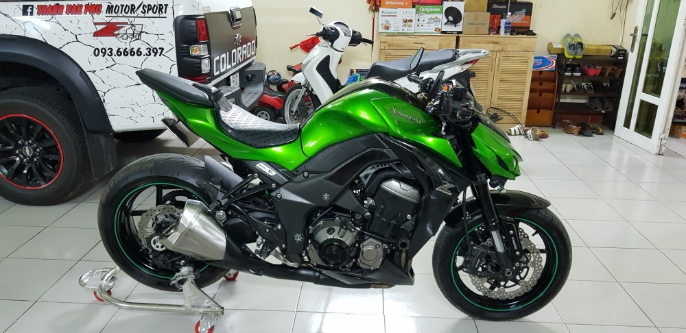 Ban Kawasaki Z1000ABSHQCN102015HISSChau AuSaigon so dep - 7