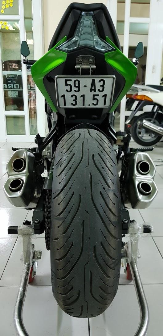 Ban Kawasaki Z1000ABSHQCN102015HISSChau AuSaigon so dep - 14
