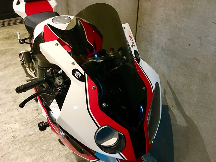 BMW S1000RR dep rang ngoi cung style HP4 Red - 3