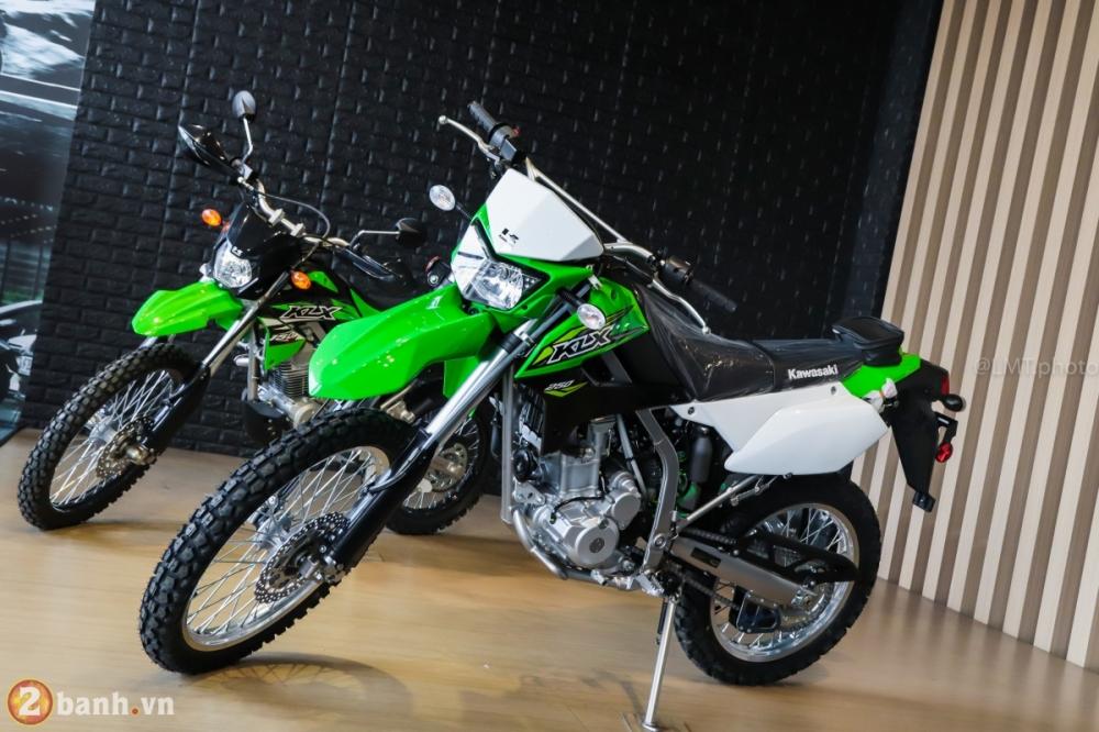 Can canh chi tiet Kawasaki KLX 250 gia tu 121 trieu dong - 27