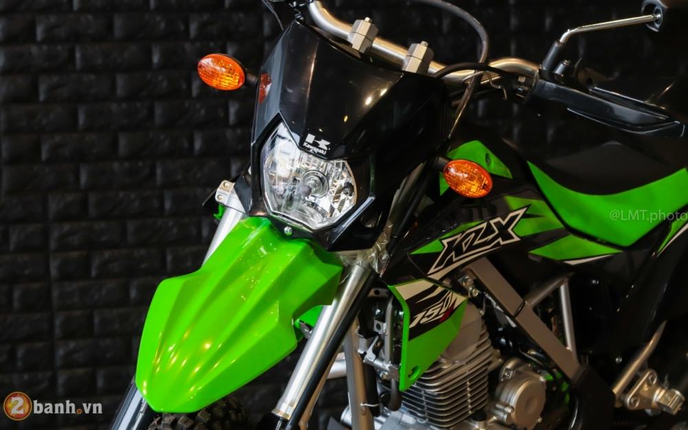 Can canh chi tiet Kawasaki KLX 150 gia tu 79 trieu dong - 5