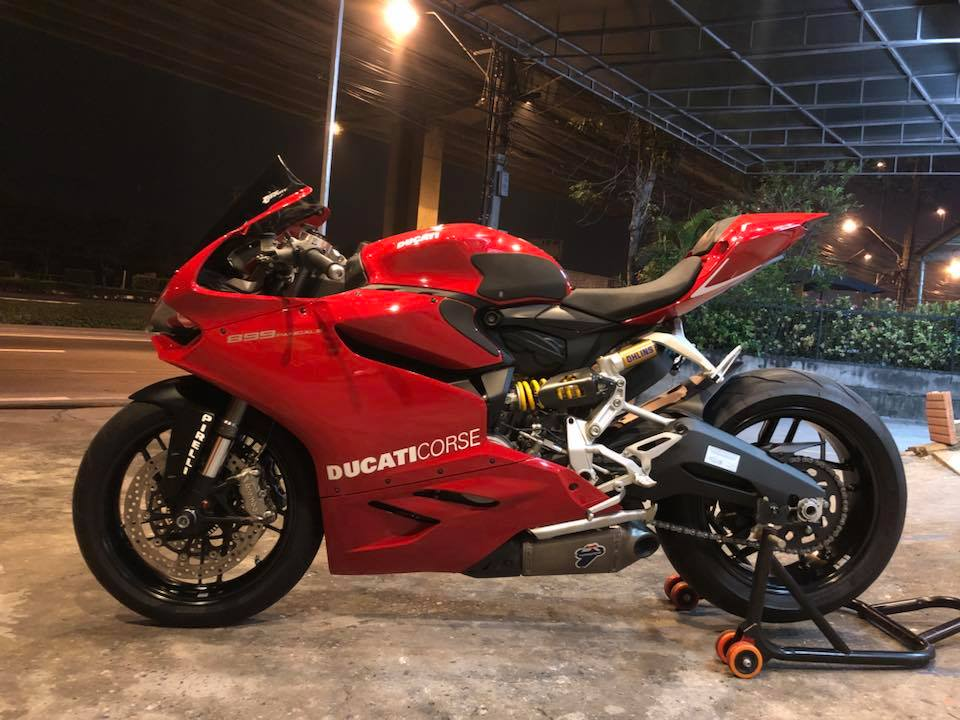 Ducati 899 Panigale ve dep kho cuong tu thiet ke hoan hao - 11