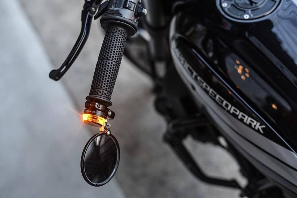 Ducati Scrambler ban do Dark knight cuc chat den tu Mugello - 5