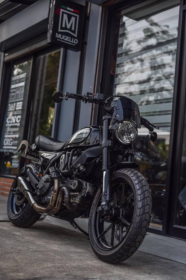 Ducati Scrambler ban do Dark knight cuc chat den tu Mugello - 7
