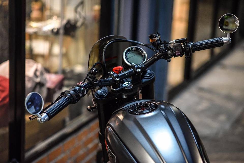 Ducati scrambler ve dep hoan my buoc ra tu xuong do Mugello - 3