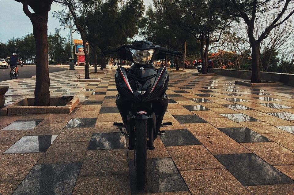 Exciter 150 do don gian day nang dong cua biker vung bien - 4