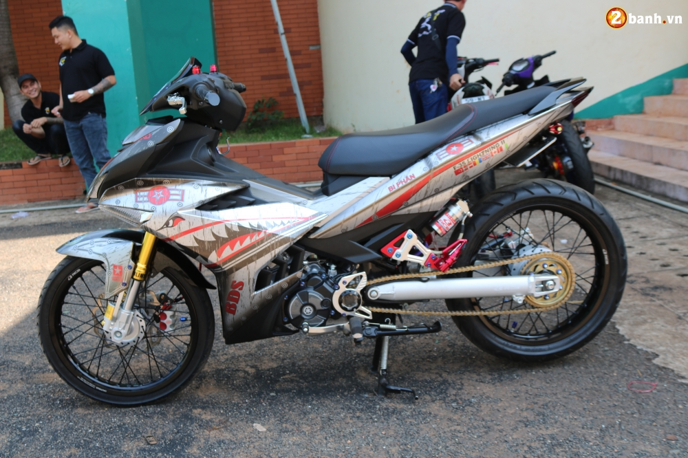 Exciter 150 do pha cach voi bo canh ca map ri set cuc chat - 14