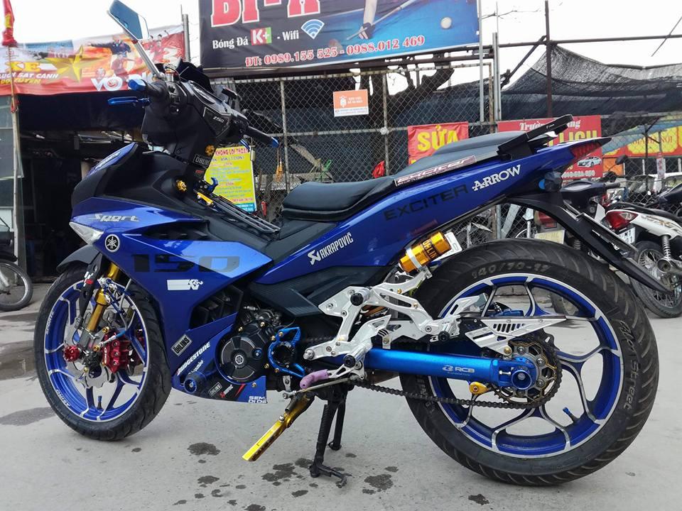 Exciter 150 do ham ho voi loat option do choi kieng cua biker Ha Noi - 3
