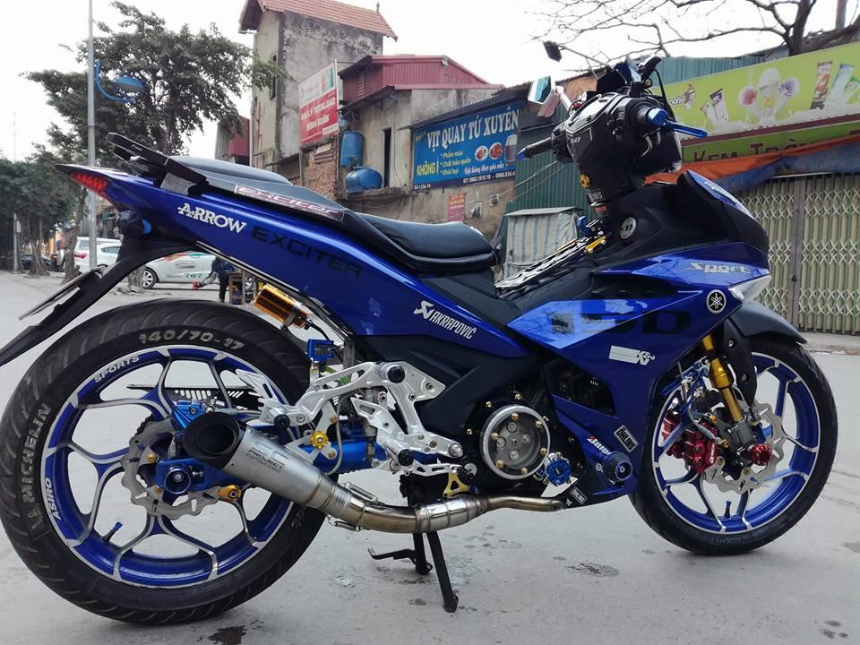 Exciter 150 do ham ho voi loat option do choi kieng cua biker Ha Noi - 7
