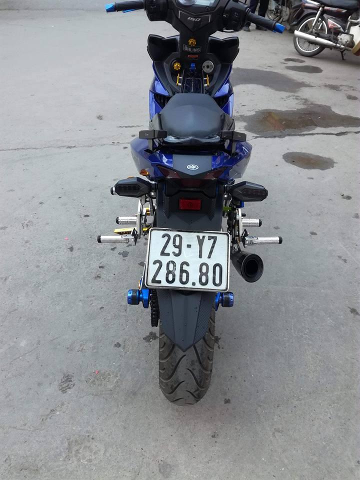 Exciter 150 do ham ho voi loat option do choi kieng cua biker Ha Noi - 9