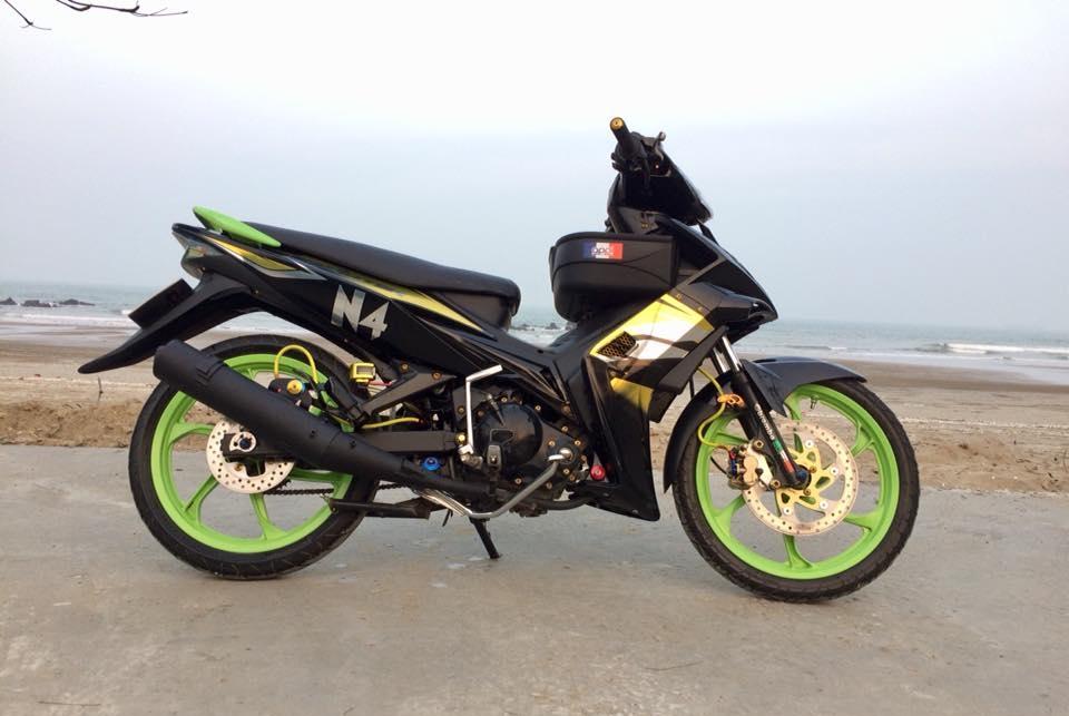 Exciter 2010 do don gian mang sac thai cuc ngau cua biker Nghe An - 3