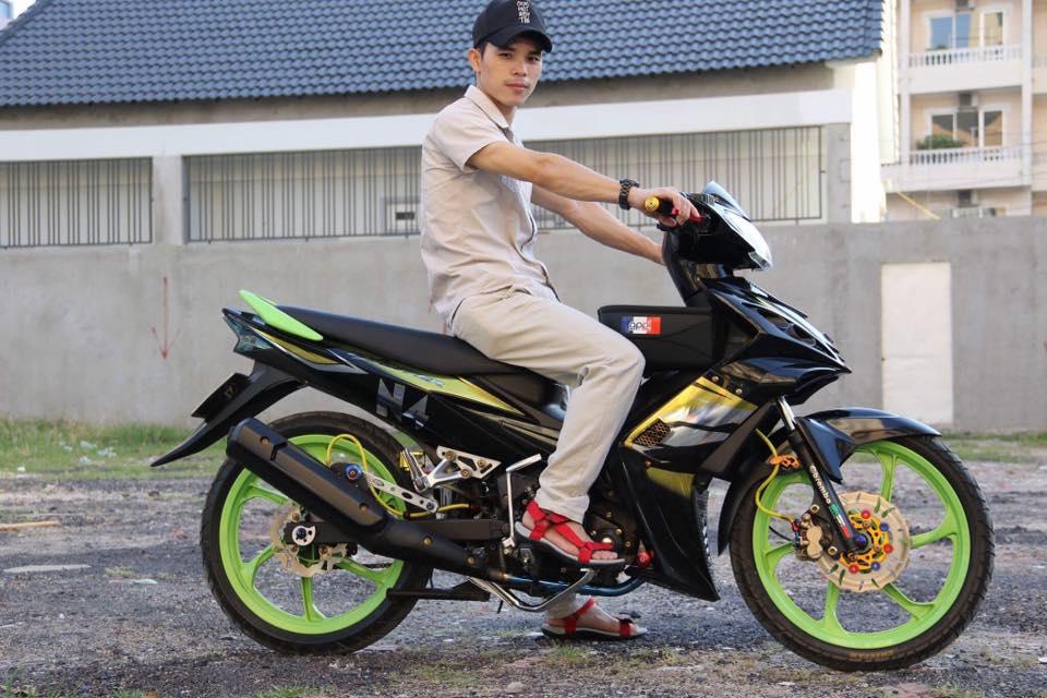 Exciter 2010 do don gian mang sac thai cuc ngau cua biker Nghe An - 7
