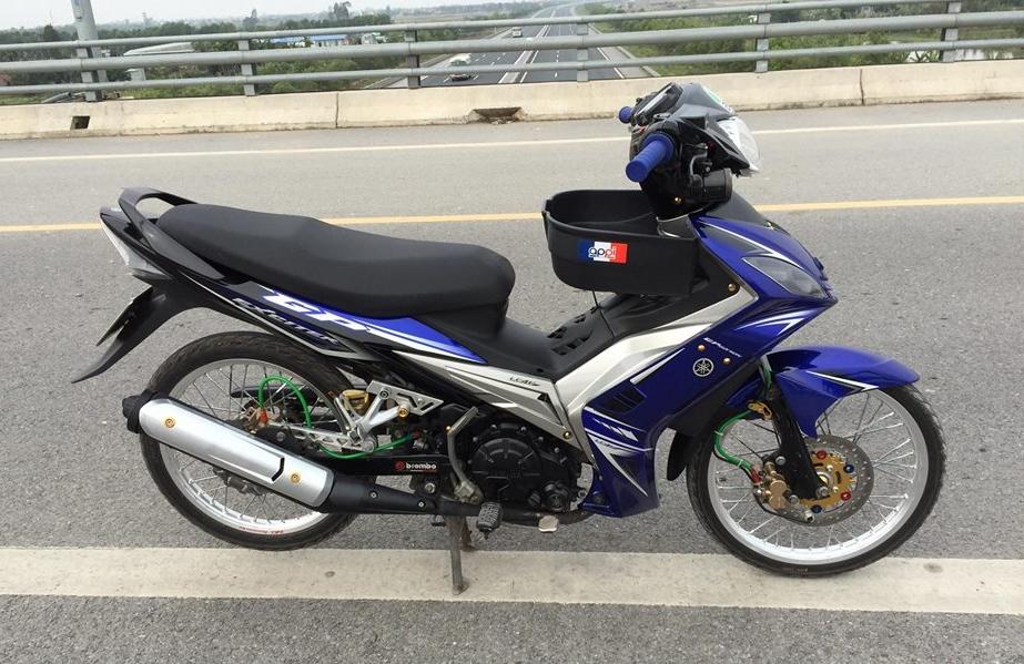Exciter 2010 do khoe dang tren con duong cao toc cua biker Hai Phong - 7