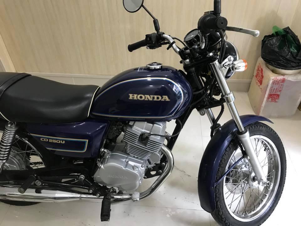 Honda CD250U hang hiem moi ve gia soc ngay tet - 6