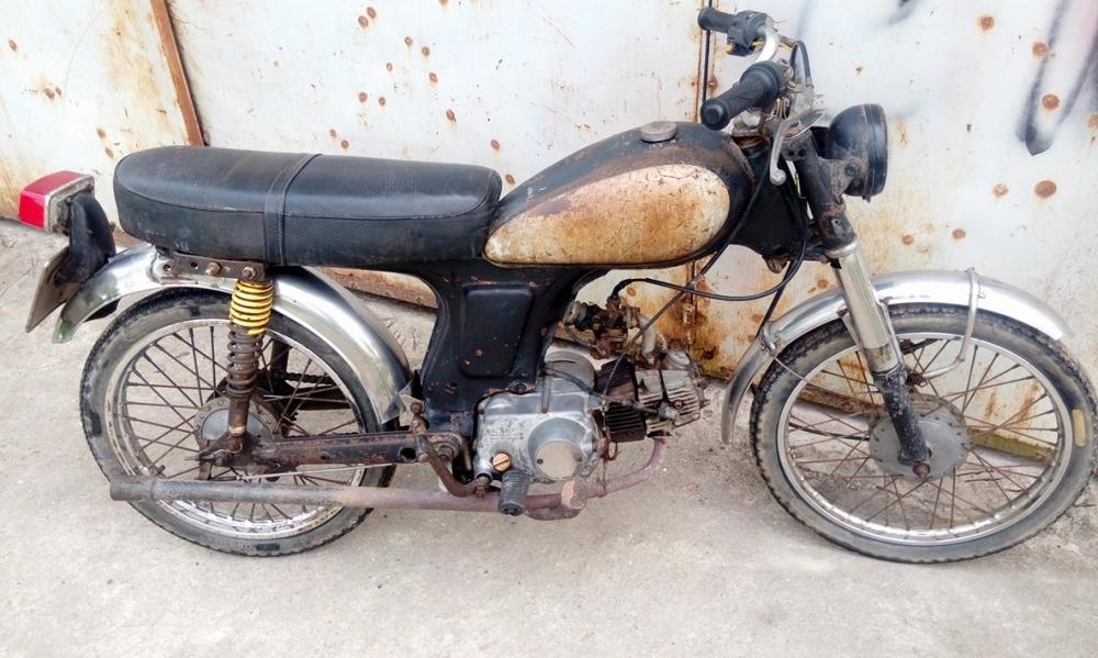 honda Cl50 1968 cho ae dam me - 7