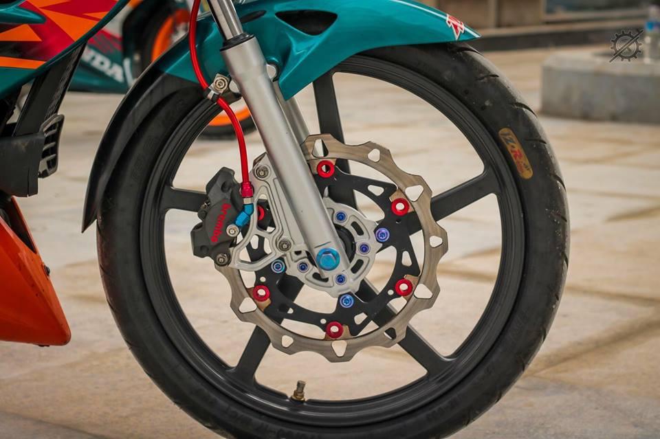 Honda Nova Dash Dua con cua gio cung loat do choi khung tu Biker mien tay - 7