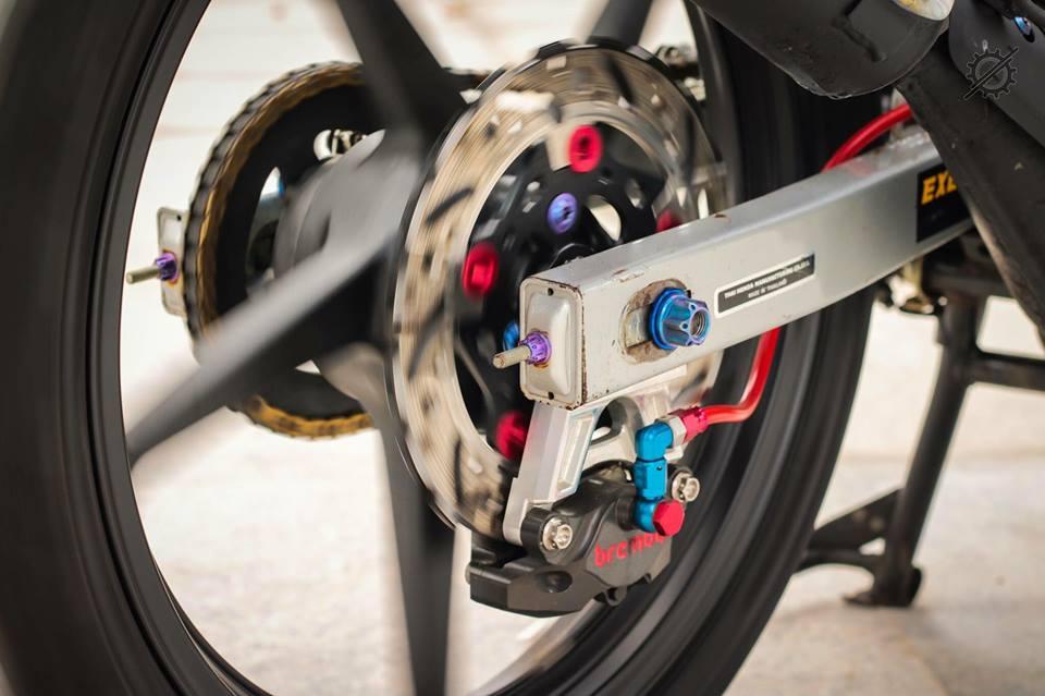 Honda Nova Dash Dua con cua gio cung loat do choi khung tu Biker mien tay - 9