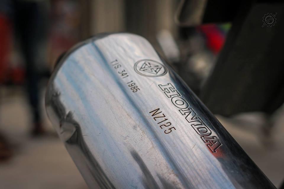 Honda Nova Dash Dua con cua gio cung loat do choi khung tu Biker mien tay - 12
