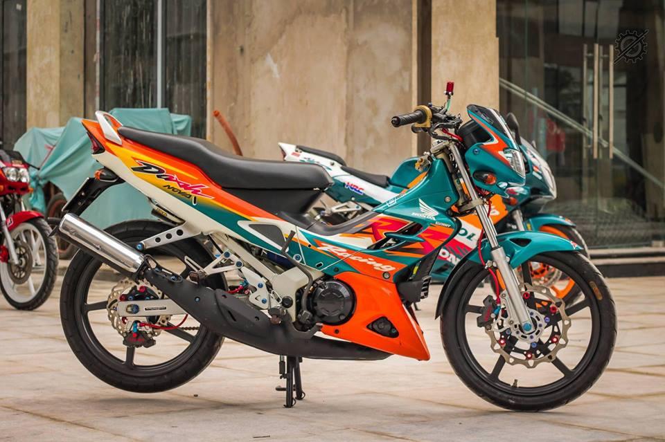 Honda Nova Dash Dua con cua gio cung loat do choi khung tu Biker mien tay - 14