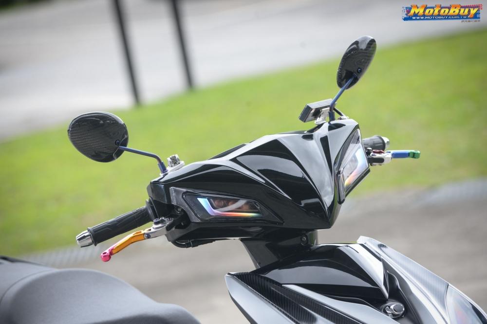 KYMCO RacingS 150 do dang cap voi khoi do choi hieu cua biker xu Dai