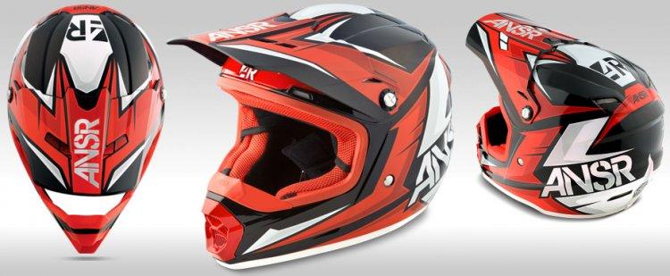 Motobox299 ANSR Faze Red dang cap danh cho biker - 4