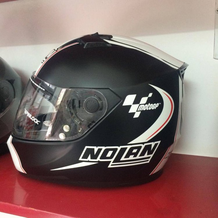 Motobox299 Nolan N64 MotoGP Flat Black su quan hut cua toc do - 2