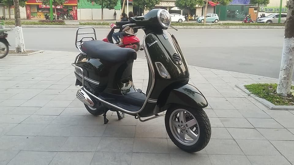 Vespa Lx 150 nhap italia mau xanh reu bien HN - 5